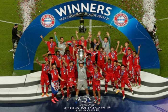 Bayern faturou mais um título de Liga dos Campeões