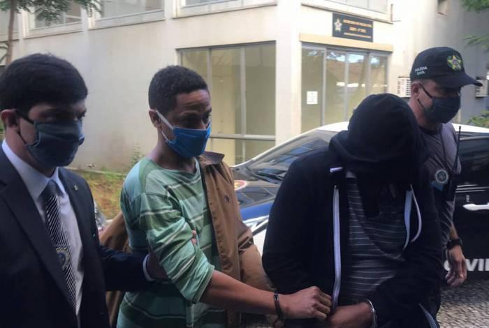 Filhos da deputada foram presos nesta segunda