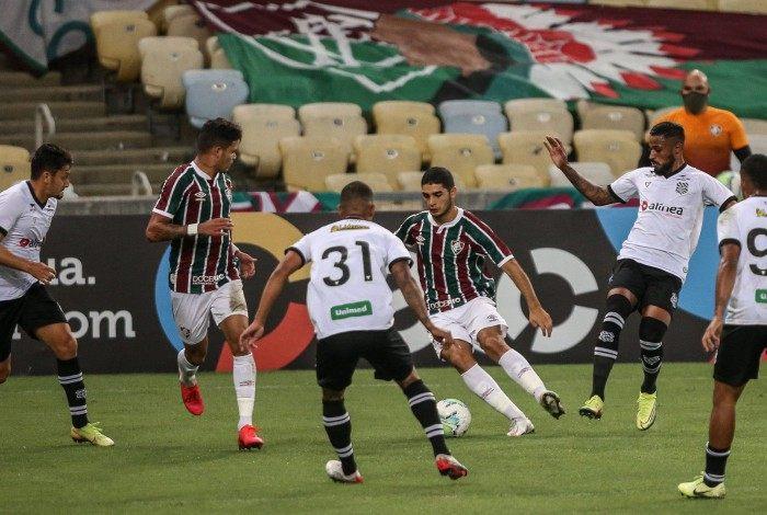 Em visita ao Rio, o Figueirense foi adversário do Fluminense na terceira fase da Copa do Brasil