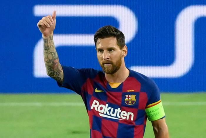 Pai de Messi já está em Manchester para negociar com o City