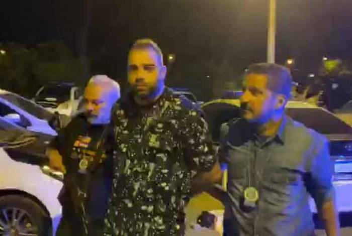 Agressor foi preso na noite desta terça