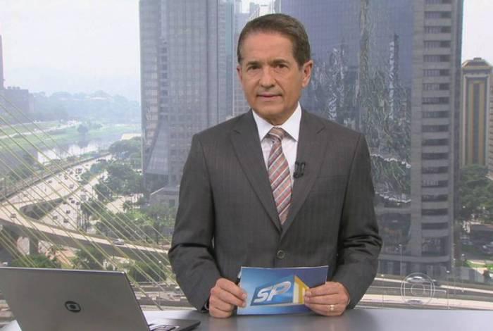 Carlos Tramontina está afastado do 'SPTV'