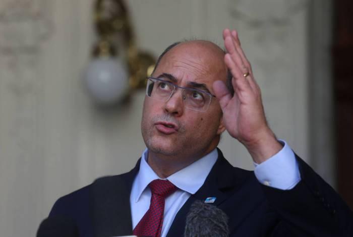 Witzel foi afastado do cargo no dia 28 de agosto
