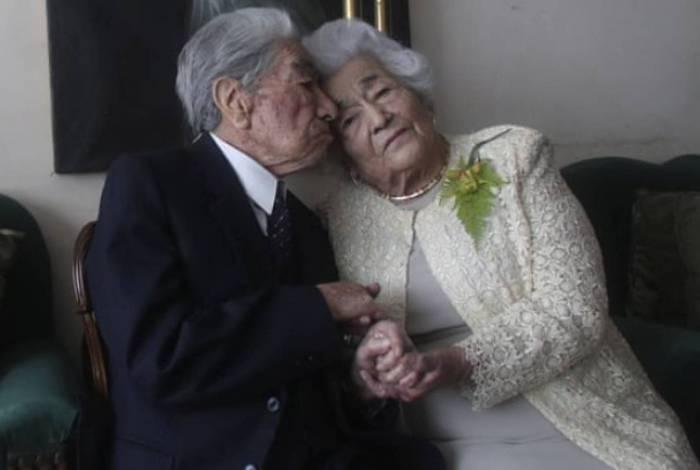 Casal equatoriano é o mais velho do mundo