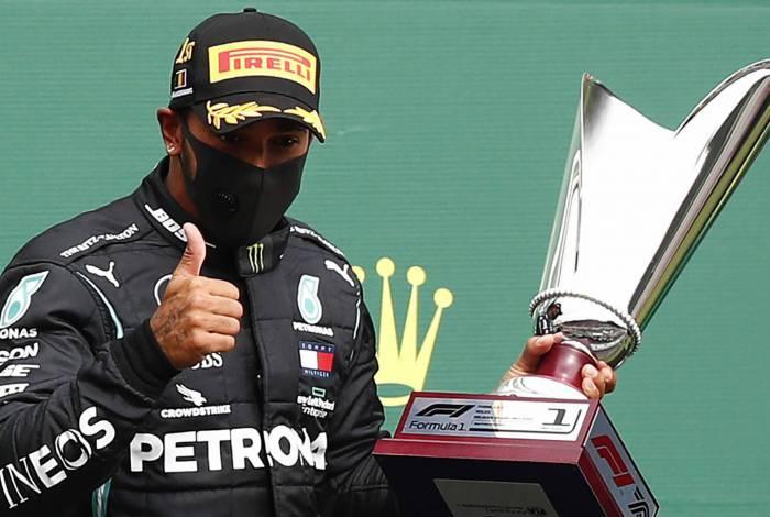 Hamilton dominou e foi o campeão no GP da Bélgica