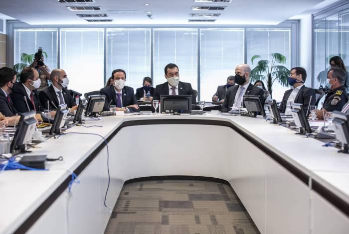 Cláudio Castro se reuniu na última segunda-feira com o secretário; ele e Mercês irão a Brasília esses dias