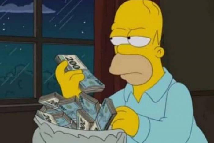 Premonição?  'Os Simpsons' previu cédula de R$ 200 no ano de 2014
