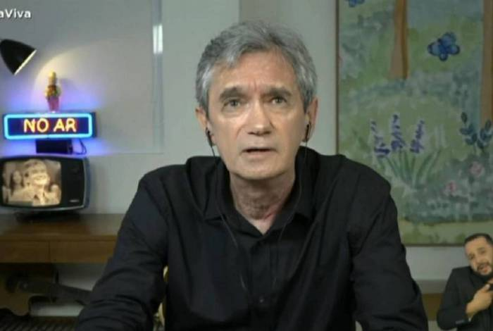 Serginho Groisman no 'Roda Viva'
