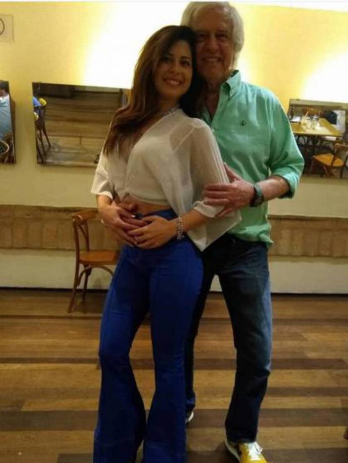 Nuno Leal Maia e a mulher