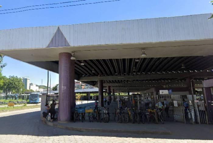 Homem foi preso no Terminal Campo Grande, na cidade de Cariacica (ES)