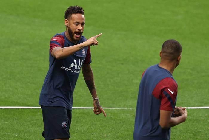 Neymar foi o destaque na vitória de virada sobre a Atalanta, nas quartas, e ganhou muitos elogios de Tuchel