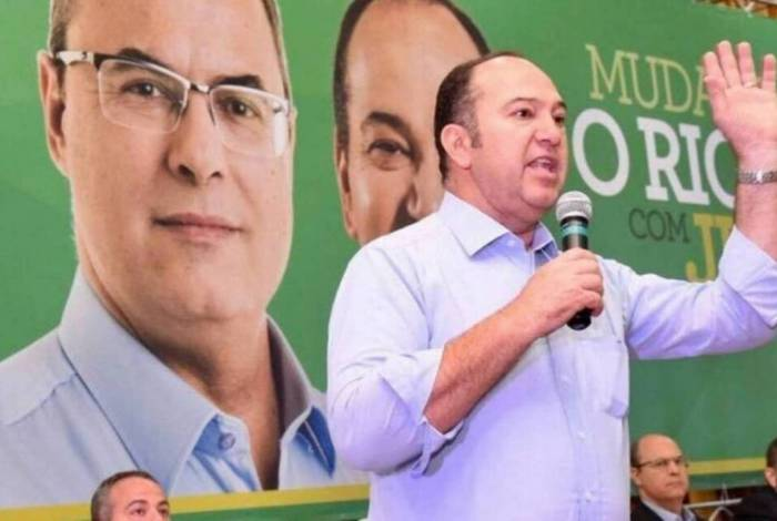 Pastor Everaldo na campanha de Wilson Witzel