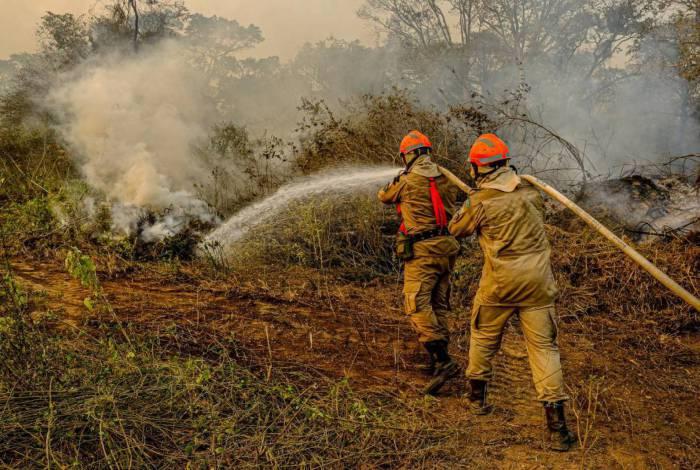 Perícia constata que incêndio em reserva no Pantanal foi provocado por ação humana