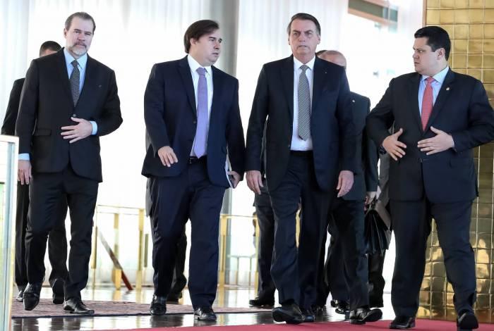 Com exceção de Maia, presidentes de poderes participarão de cerimônia de 7 de setembro