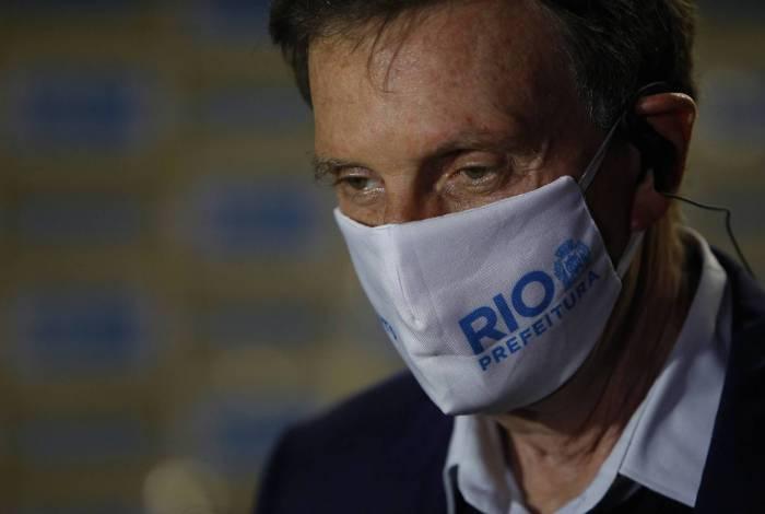 Crivella não contará com o apoio formal do vice-presidente Hamilton Mourão na sua campanha