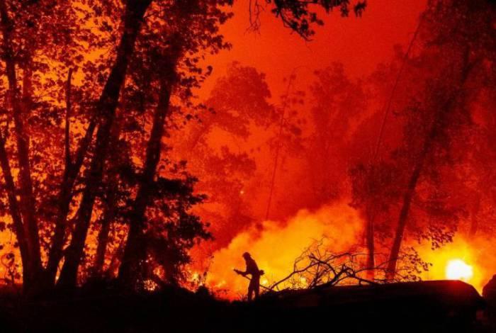 Incêndios no oeste dos EUA