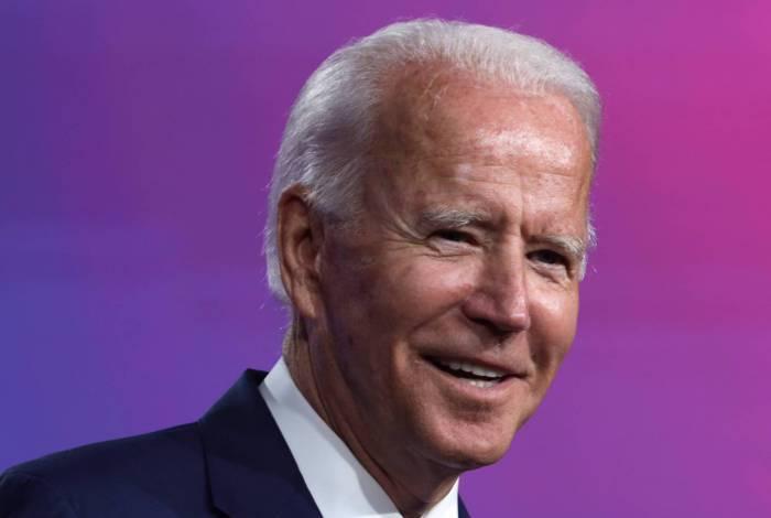 Joe Biden, candidato do Partido Democrata à presidência dos EUA