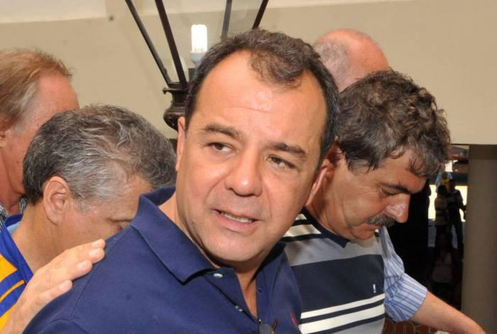 Ex-governador do Rio, Sergio Cabral