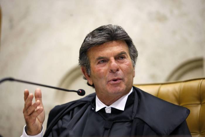 Ministro presidente do STF, Luiz Fux, que revogou liminar em habeas corpos concedida pelo ministro Marco Aurélio Mello