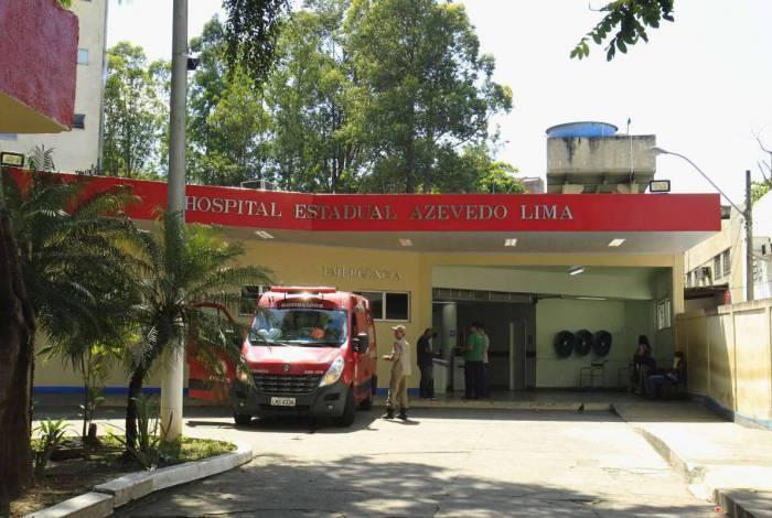 Feridos foram levados ao Hospital Azevedo Lima, em Niterói