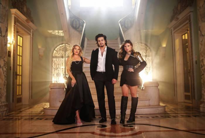 Luísa Sonza, Luan Santana e Giulia Be terão live conjunta no sábado, às 20h