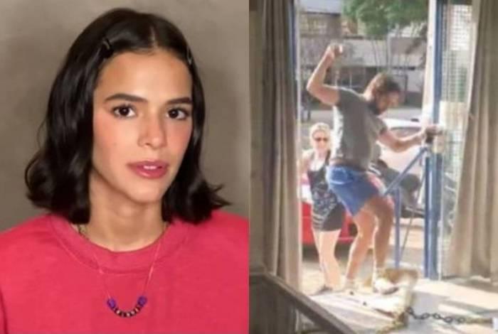 Bruna Marquezine se revolta com homem que foi agressivo com atendente de sorveteria
