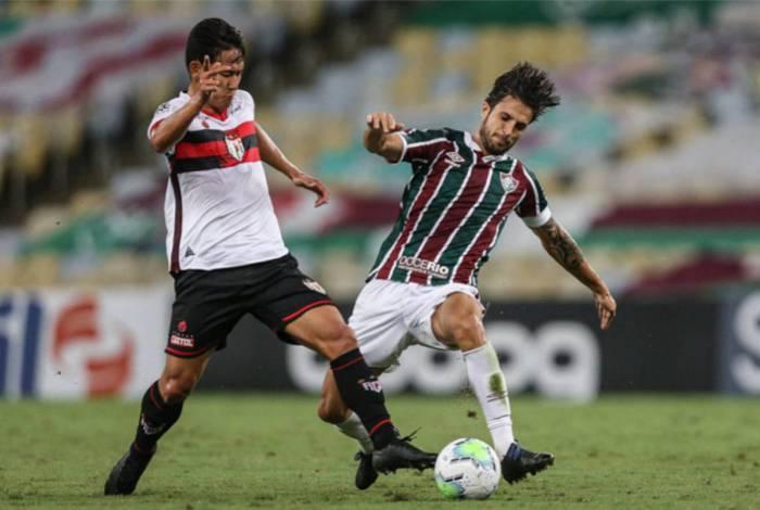 Fluminense e Atlético-GO empataram há duas semanas