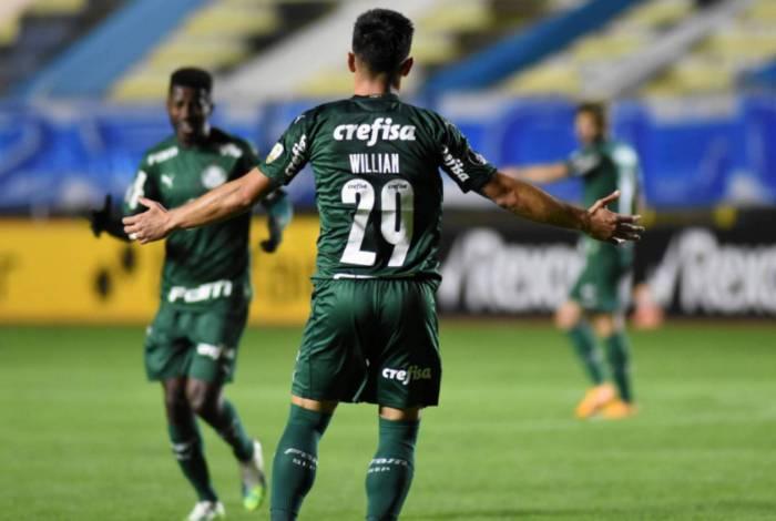 Palmeiras bateu o Bolívar por 2 a 1 na estreia da Libertadores no SBT