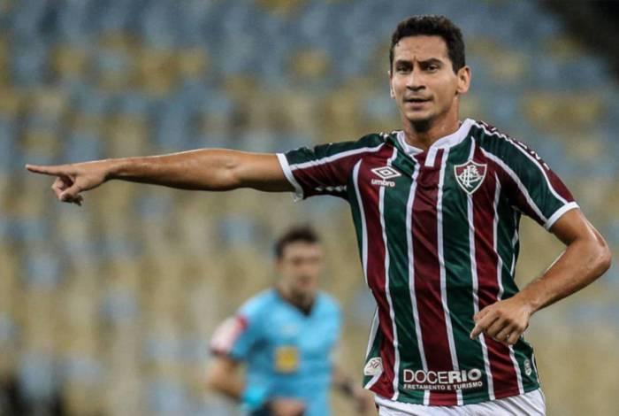 Paulo Henrique Ganso ficou pouco mais de 30 minutos em campo pelo Flu