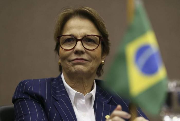 Tereza Cristina, Ministra da Agricultura, Pecuária e Abastecimento