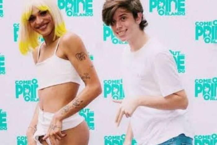O brasileiro conheceu Pabllo na parada LGBTQ+ em Orlando, nos EUA