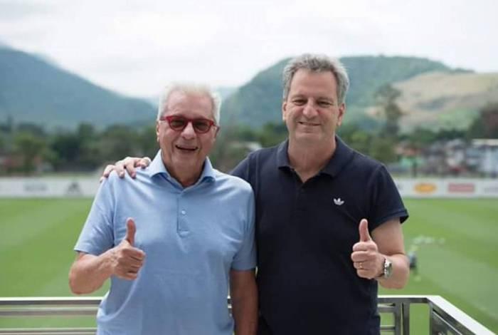 Márcio Braga e Rodolfo Landim