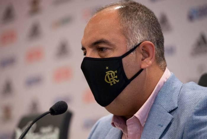 Marcos Braz: nada de mudanças por agora no time rubro-negro