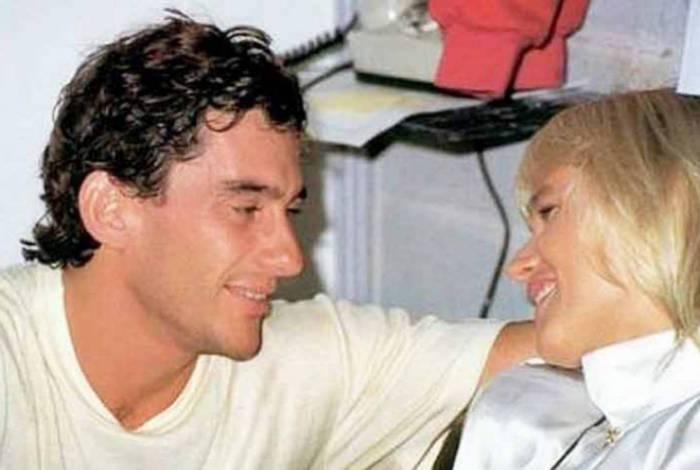 Xuxa e Ayrton Senna foram namorados