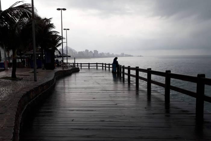 Chuva pode atingir regiões da cidade ainda nesta quarta-feira