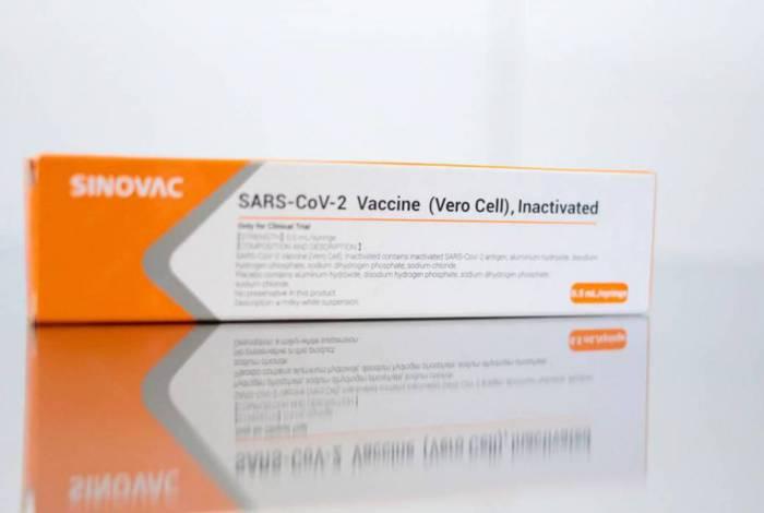 CoronaVac, vacina que está sendo desenvolvida pela farmacêutica chinesa Sinovac com apoio do Instituto Butantan