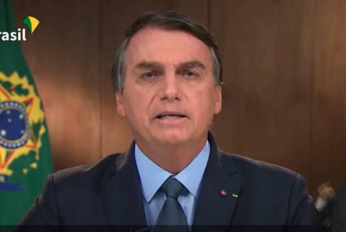 Bolsonaro disse ainda que o Brasil tem a