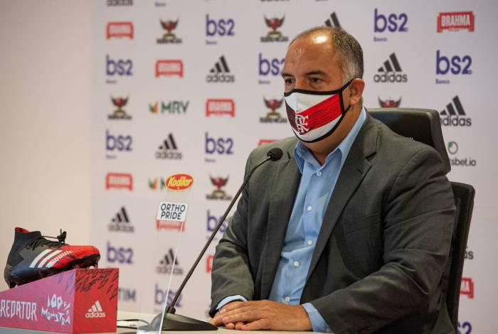 Marcos Braz é mais um nome no Flamengo infectado pela Covid-19