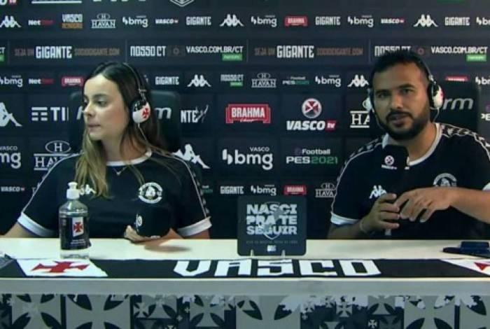 Sarah Borborema e Carlos Gregório