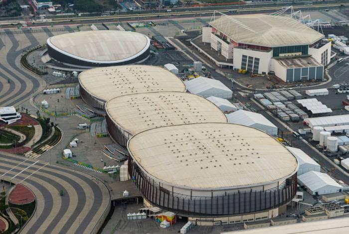 Arenas do Parque Olímpico da Barra da Tijuca. Os patinetes poderão ser utilizados apenas dentro do parque