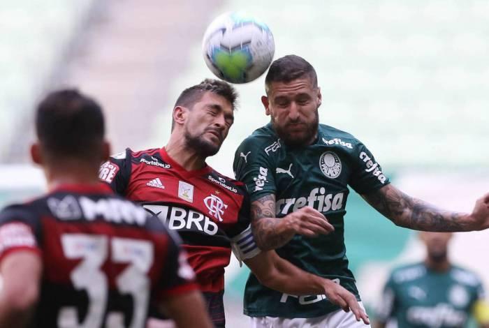 Palmeiras e Flamengo