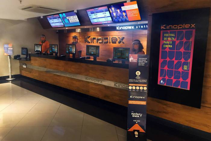 Rede de cinemas Kinoplex reabre na quinta-feira no Rio