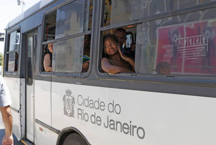 Rio de Janeiro - RJ  - 14/10/2019 - Geral - ônibus sem ar condicionado no Rio de Janeiro -  Foto Reginaldo Pimenta / O Dia