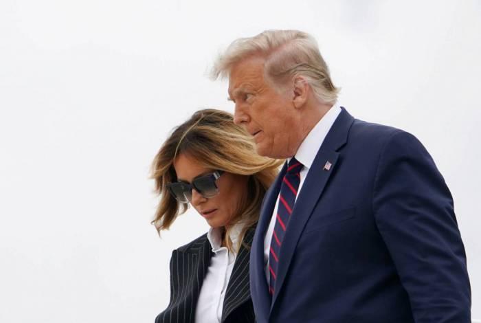 Trump e Melania em 29 de setembro