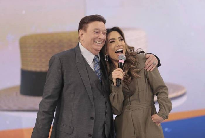 Raul Gil e Patricia Abravanel
