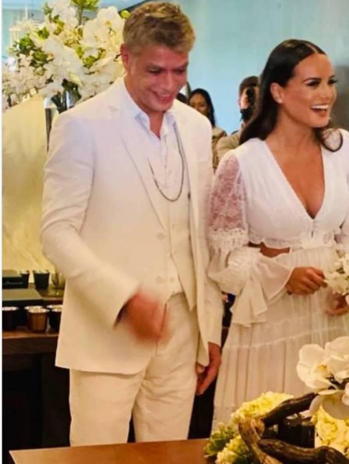 Fabio Assunção se casou com Ana Verena em cerimônia no civil