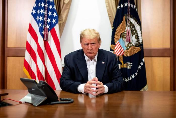 Presidente dos EUA, Donald Trump, se recupera da covid-19