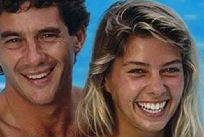 Ayrton Senna e Adriane Galisteu namoraram por um ano e meio