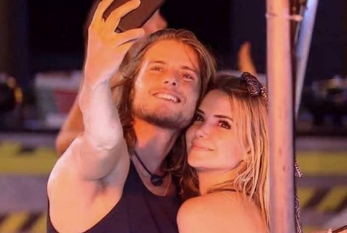 Daniel Lenhardt e Marcela Mc Gowan no 'BBB 20'