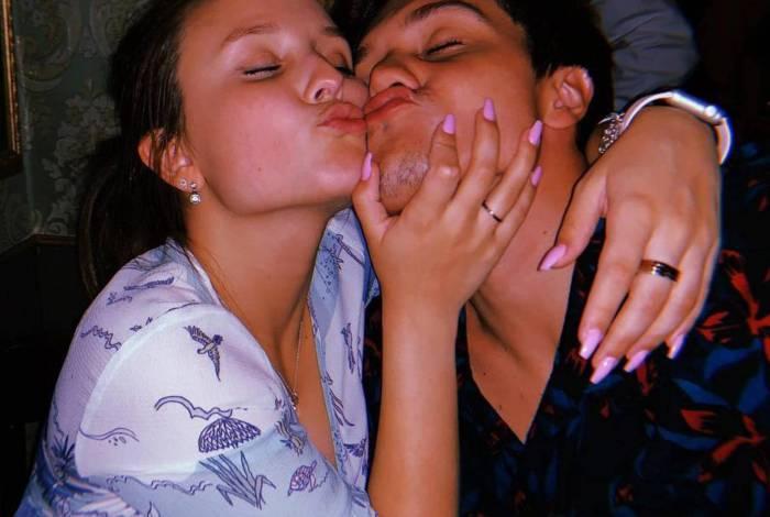 Larissa Manoela e Leo Cidade param de se seguir no Instagram